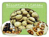 biscottini e gateau